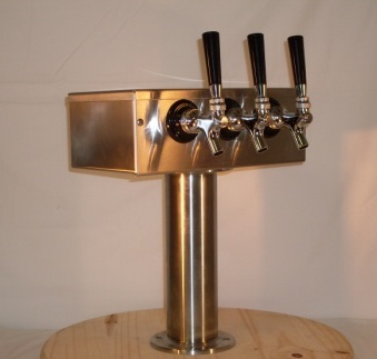 3 Tap T Beer Tower