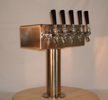 5 Tap T Beer Tower